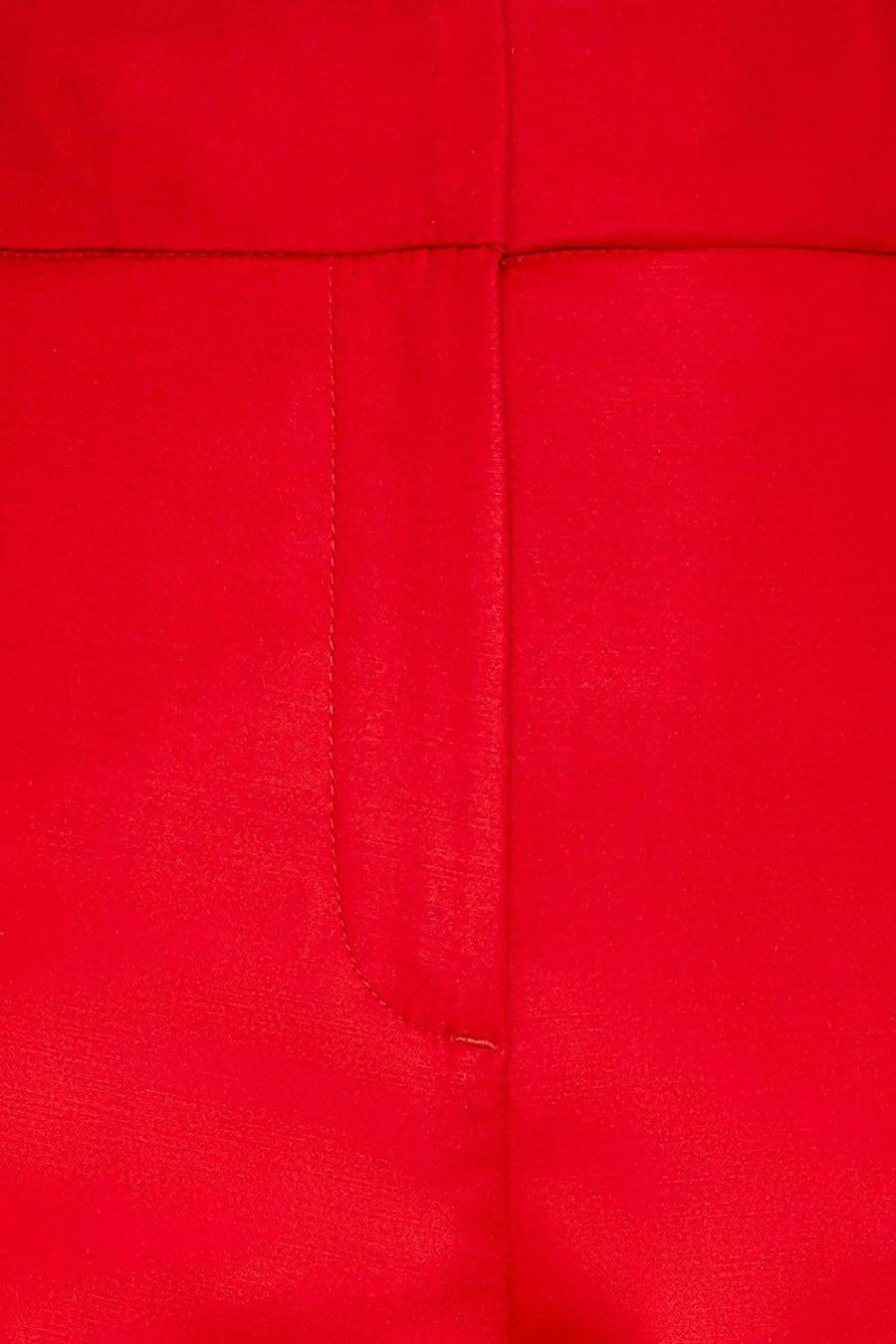 Coast Cropped Trousers | Womens Cotton Sateen Cropped Trousers Red