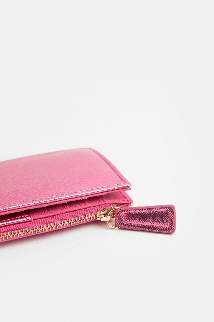 Coast Purses | Womens Metallic Purse Pink
