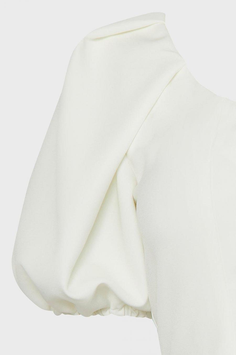 Coast Shell Tops   Womens Statement Sleeve Outfitter Top Ivory
